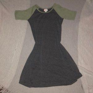 LulaRoe girls dress
